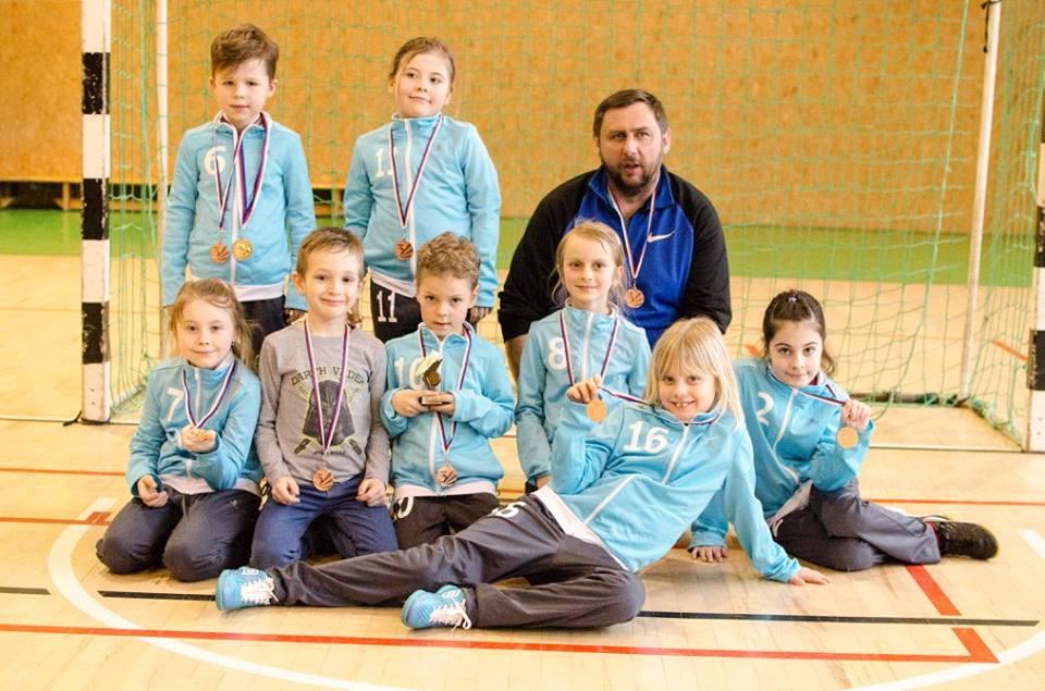 U08: Bronzové medaile z Kyjova