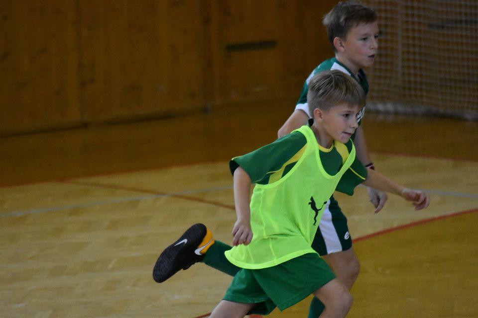 U13: Čtvrté místo na turnaji v Bystřici