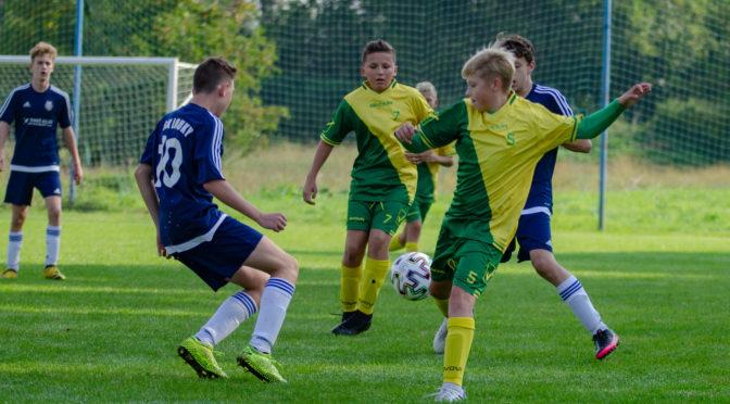 U15: Starší žáci prohráli v Loukách